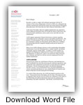 Letter From Dr Beaty - Joint Implant Surgery-Research Foundation