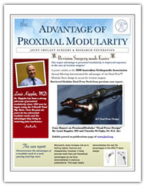 Advantage of Proximal Modularity