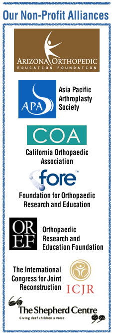 Nonprofit Alliances - Joint Implant Surgery-Research Foundation
